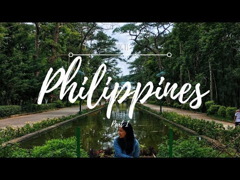 My Philippines Trip | Travel Vlog 2017 (Part I)