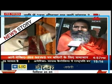 "Baba Ramdev slammed politicians who attacked PM Modi on making chants of ""Jai Shri Ram"""