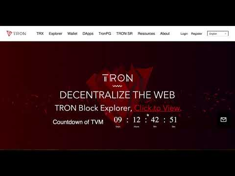 How to create TRON Wallet | HPB blockchain Giveaway | Odyssey