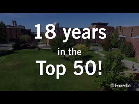 Rensselaer Ranked 42nd Among National Universities in 2017