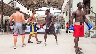 World Famous Boxing Gym in Old Havana, Cuba.