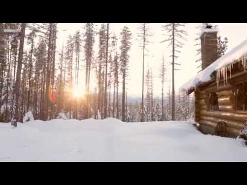 Winter in Kalispell, Montana, is magical