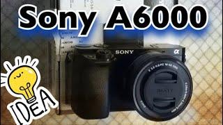 Системна фотокамера Sony Alpha ILCE 6000 kit 16-50mm (розпакування) | Unboxing
