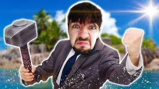 MAN GOES CRAZY ALONE AT SEA | Raft #1 thumbnail