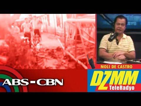 Babaeng nagwawalis sa Quezon City, patay nang mabagsakan ng crane