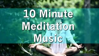 10 Minute Meditation Music - with Earth Resonance Frequency for Deeper Relaxation