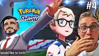 WIELKIE OTWARCIE LIGII POKEMON ! (Pokemon Sword, odc. 4)