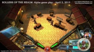 Rollers of the Realm: Alpha Game Play / Combat Clip