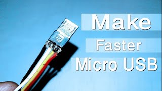 How to Build Micro USB Cable | DIY Micro USB