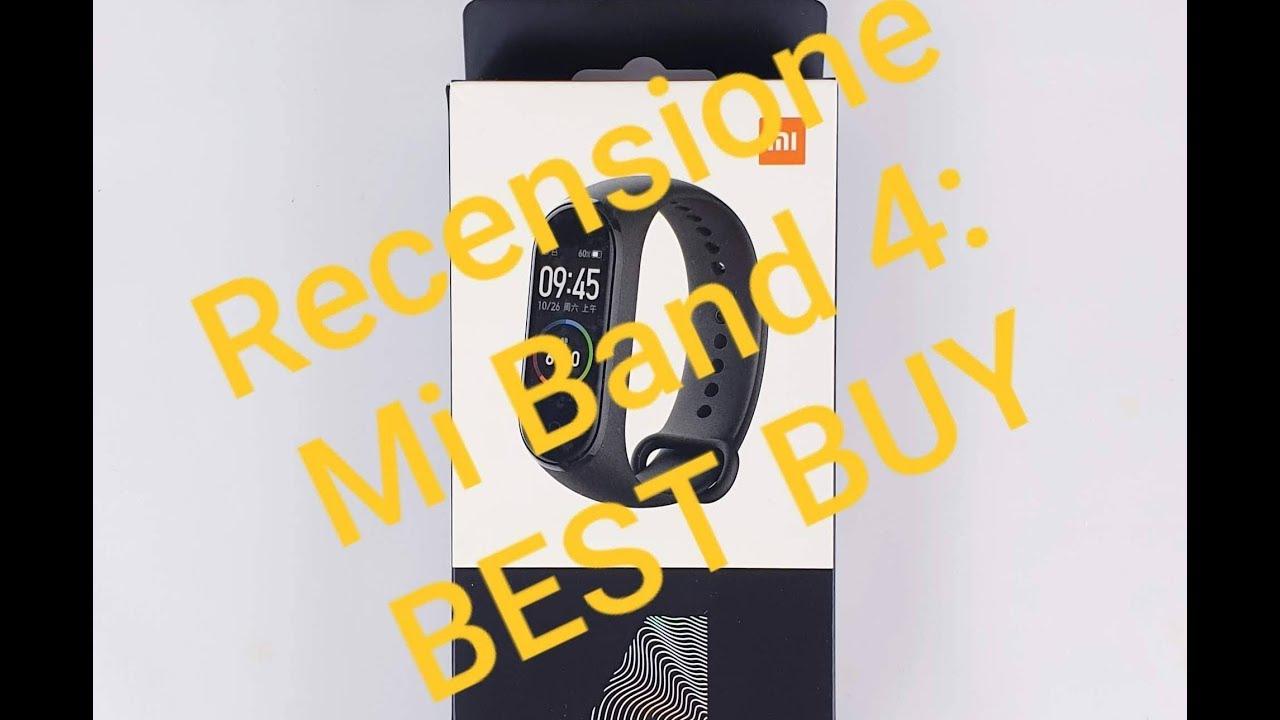 Recensione Xiaomi Mi Band 4 dopo 1 mese: BEST BUY!