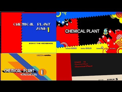 Chemical Plant Zone - Sonic The Hedgehog 2/Generations/Mania/Forces.