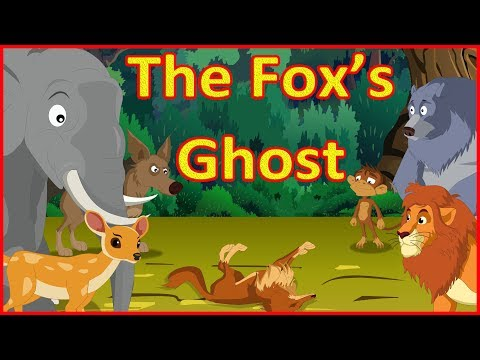 The Fox's Ghost | Panchatantra Moral Stories for Kids in English | Maha Cartoon TV English