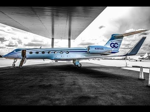 Taking Delivery of a Gulfstream 550 - Grant Cardone
