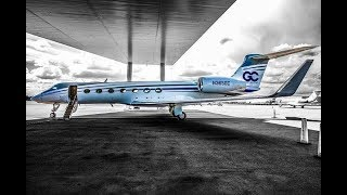 Gulfstream 550 - Taking Deliver of Gulfstream 550