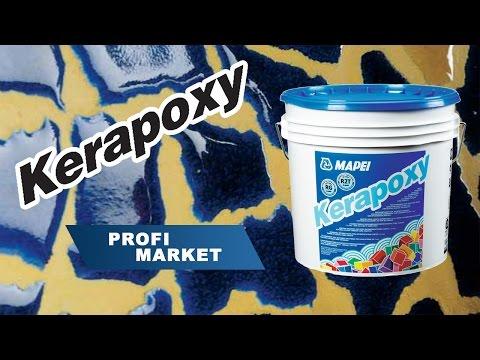 Технология нанесения затирки  Kerapoxy TM MAPEI от Profimarket