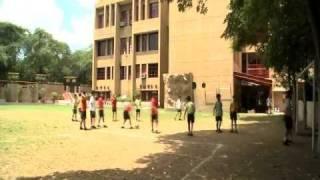 Children on the field, The Shri Ram School
