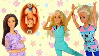 Приключения Беременной Мамы Мультик Куклы #Барби Сборник 19 Игры Игрушки Для девочек