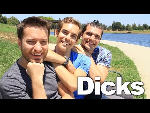 3 DICKS ON A BENCH