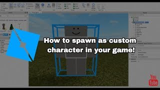 How to spawn as custom Character! | Roblox Studio Tutorial (Read desc.)