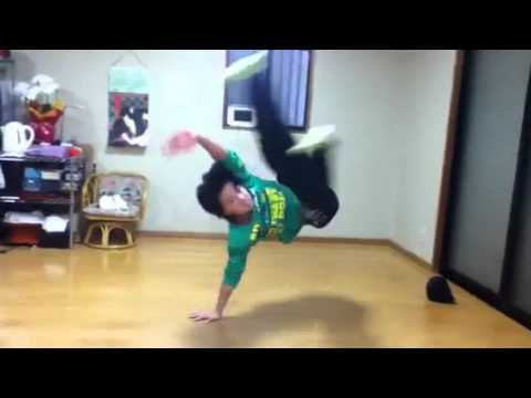 ブレイクダンス フリーズ練習