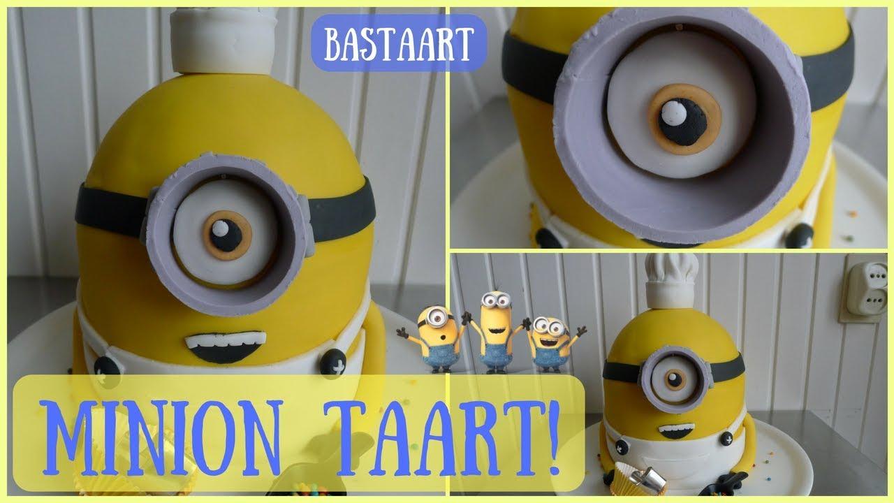 Uitzonderlijk Minion taart bakken! (Despicable Me) - Bakken met Bastaart - YouTube #UP35