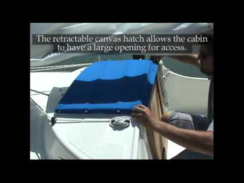 Com-Pac Sunday Cat sailboat company video