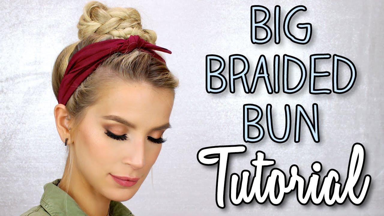 how to create a big bun