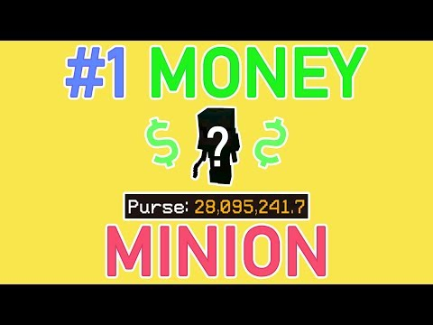 NEW BEST Money Making Minion AFTER Update 0 7 2!! Hypixel Skyblock