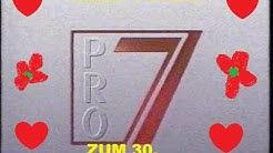ZUM 30. GEBURTSTAG DES PRIVATFERNSEHSENDERS PRO7 - EIN BLICK ZURÜCK ! - 30 JAHRE PRO7