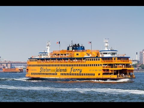 A Ride on the Staten Island Ferry