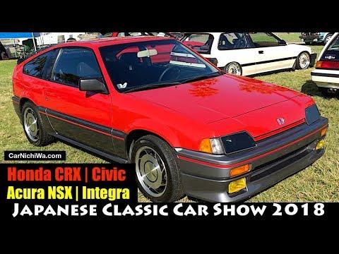 Honda Crx Civic Acura Nsx Integra 2018 Anese Clic Car Show Jccs Carnichiwa