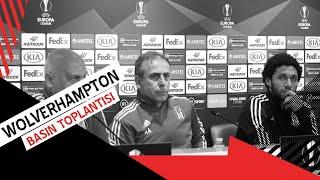 Wolverhampton Maçı Öncesi Teknik Direktörümüz Abdullah Avcı ve Mohamed Elneny'nin Basın Toplantısı