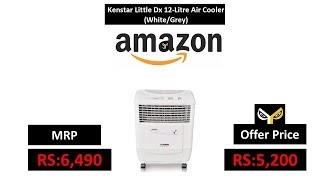 Kenstar Little Dx 12-Litre Air Cooler (White/Grey)