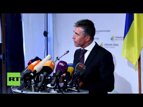 Ukraine: Rasmussen wants Ukraine to 'choose its own foreign policy without foreign interference'