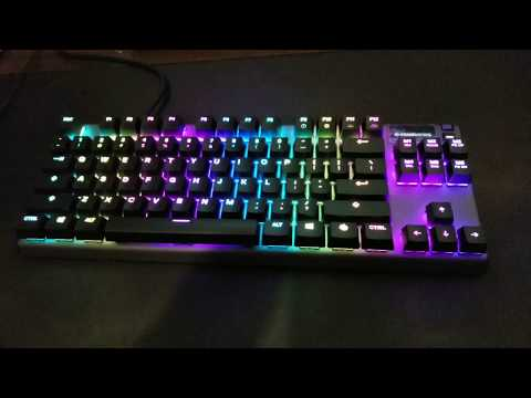 Steel Series Apex PRO TKL Omnipoint switches 2019 REVIEW