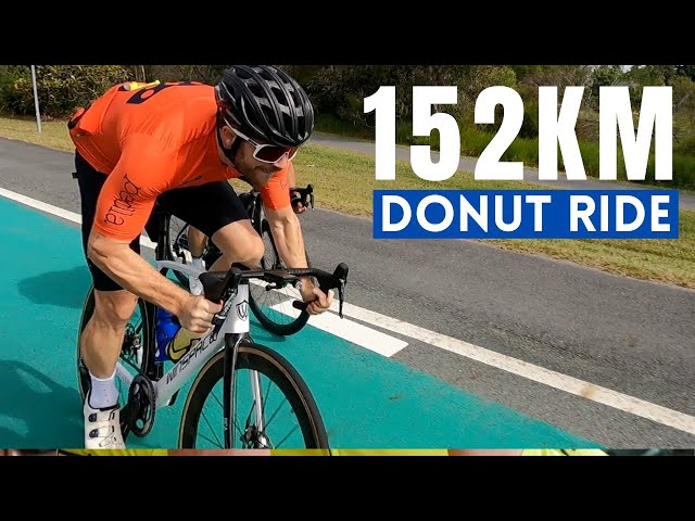 We Cycled to eat the Biggest Donut in Australia