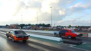 Small Tire Outlaw Racing at Street Car Takeover Columbus
