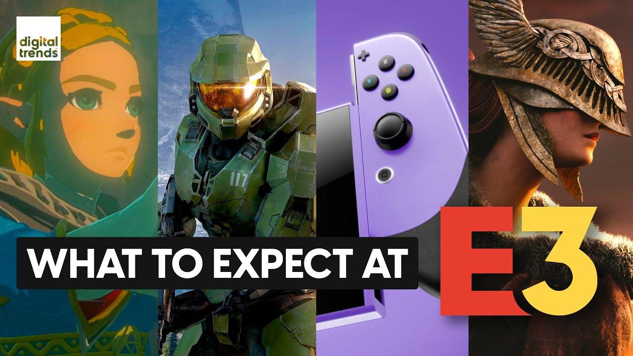 E3 2021 Preview | Nintendo Switch Pro, Halo: Infinite, Breath of the Wild 2 & More! - Digital Trends