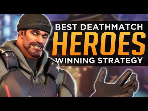 Overwatch: BEST HEROES for Free for All - Deathmatch Guide