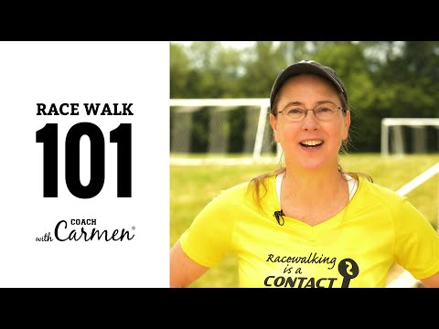 Race Walk 101 How-to and Learning the Basic Techniques for Racewalking Advice from Coach Carmen