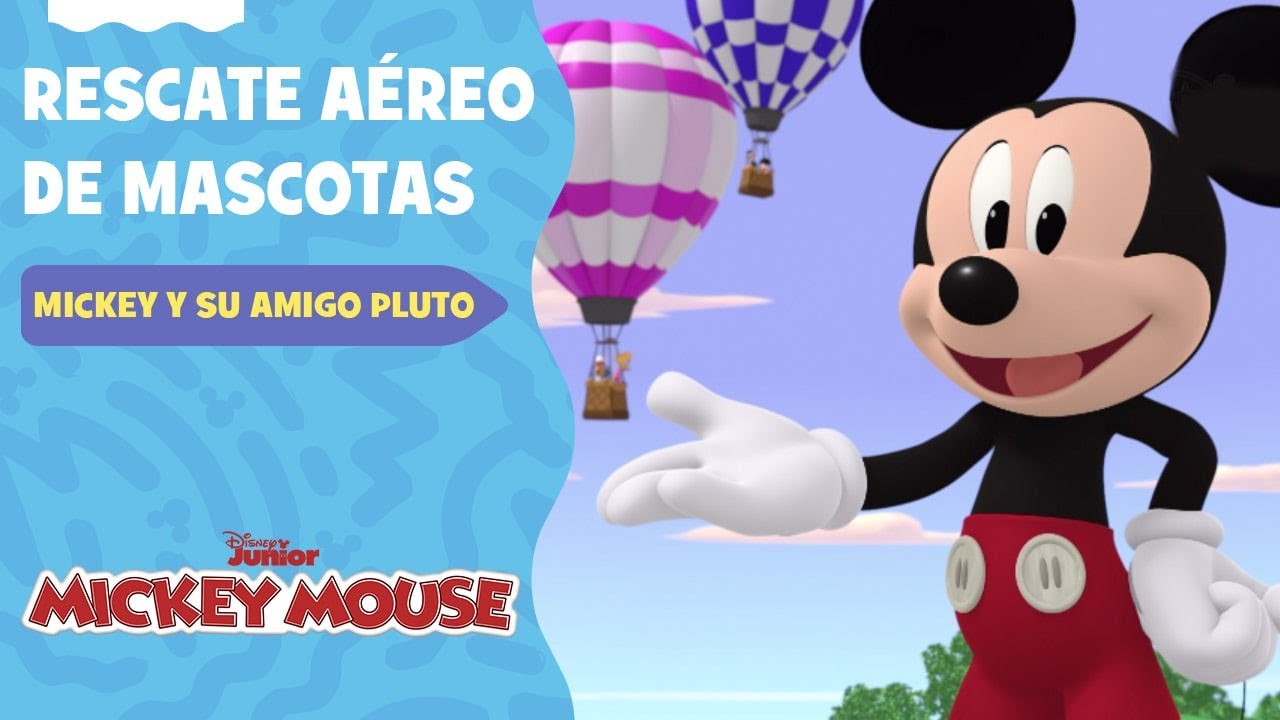 Mickey Mouse y su amigo Pluto   Rescate aéreo de mascotas