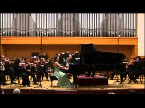 Marina Gevorgyan Frederic Chopin Concerto for piano and orchestra part 2