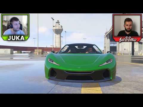 SDP VS. SDA - Cekamo 70 000 Subscribera - LIVE GTA5 Trke!!!!