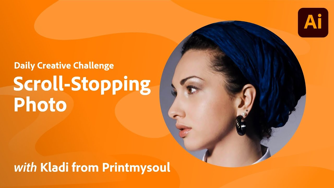 Illustrator Daily Creative Challenge - Scroll-Stopping Photo