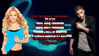 Shakira   Chantaje Audio ft  Maluma Türkçe  Alt Yazılı