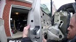 Silverado 2004 exterior driver side door handle replacement