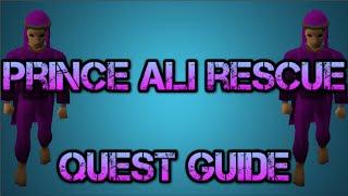 Prince Ali Rescue Quest Guide Old School RuneScape 2007