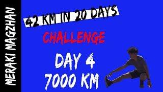 42 km Challenge in 20 days - Running Tip One - Wear Running Socks 💪- Day 4