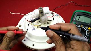 Ceiling Fan Wiring Connection of Three Wire in Hindi