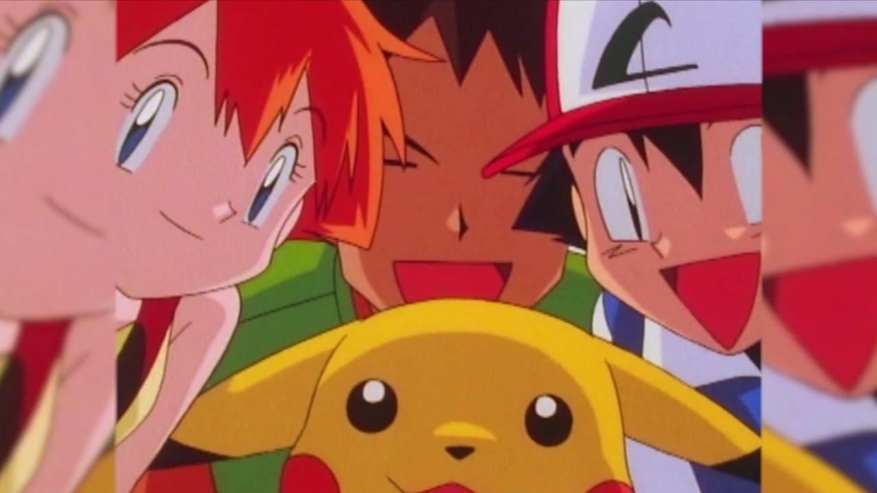 pokemon ash und misty konnen morgendammerung